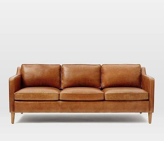 Camel Colored Leather Sofa New Color Couch