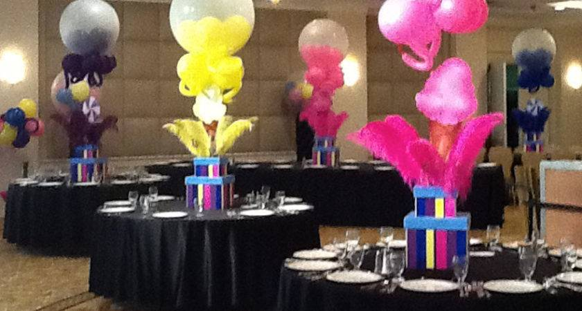 Candy Ice Cream Theme Centerpiece Plan Party Mare