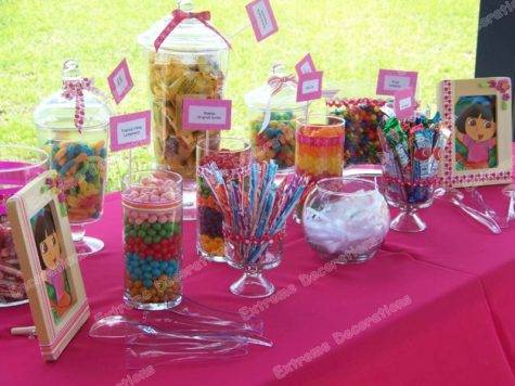 Candy Table Centerpieces Efavormart Glittered Vogue