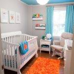 Carter Turquoise Orange Nursery Project