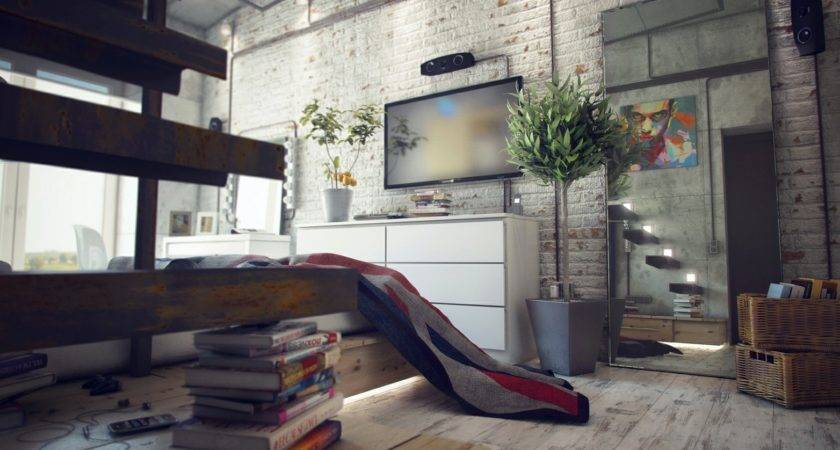 Casual Loft Style Living