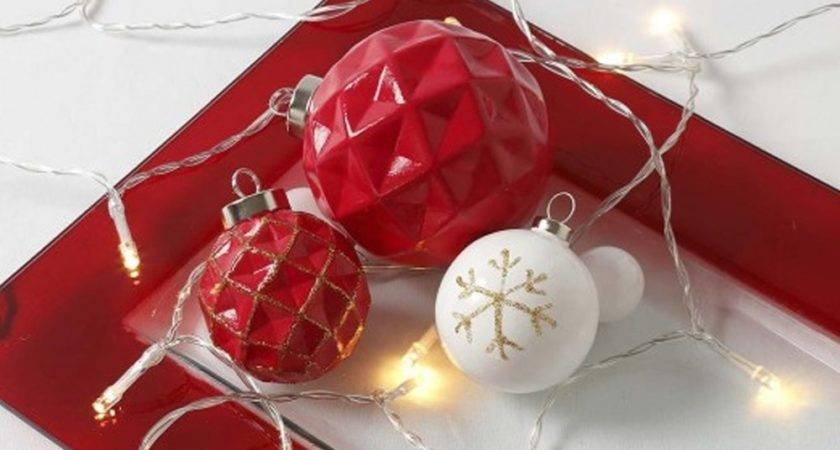 Ceramic Harlequin Christmas Baubles Decorate