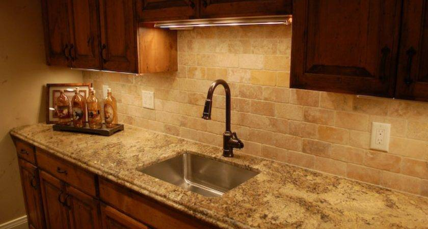 Ceramic Kitchen Stone Tile Backsplash Ideas