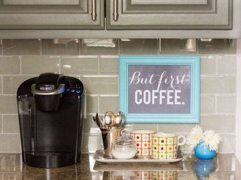 Charming Coffee Stations Wake Every Morning