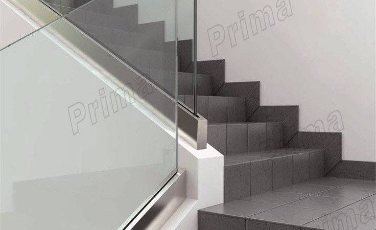 Cheap Glass Spiral Staircase Stainless Steel Railing