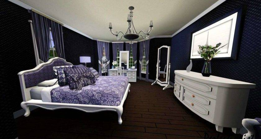 21 Spectacular Purple Black White And Silver Bedroom Little Big Adventure