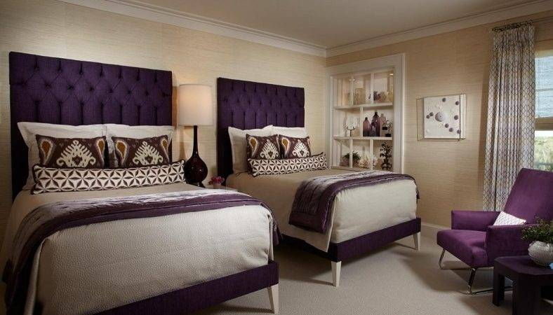 Check Out These Cream Purple Bedroom Your Home