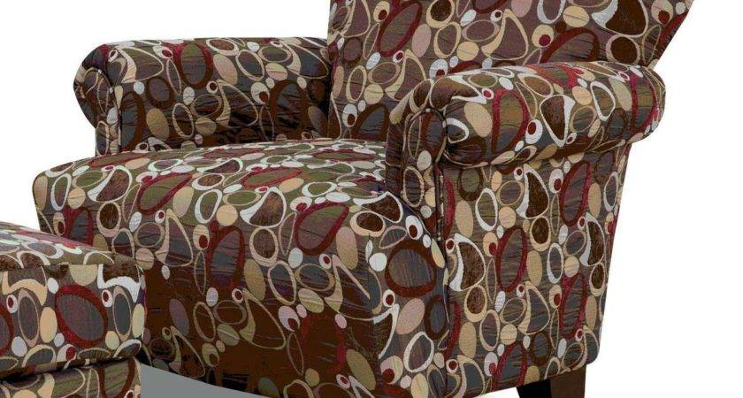 Chelmsford Earth Tone Pattern Chair Furniture