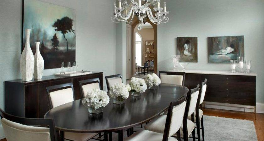 Chic Chandelier Small Dining Room Lighting
