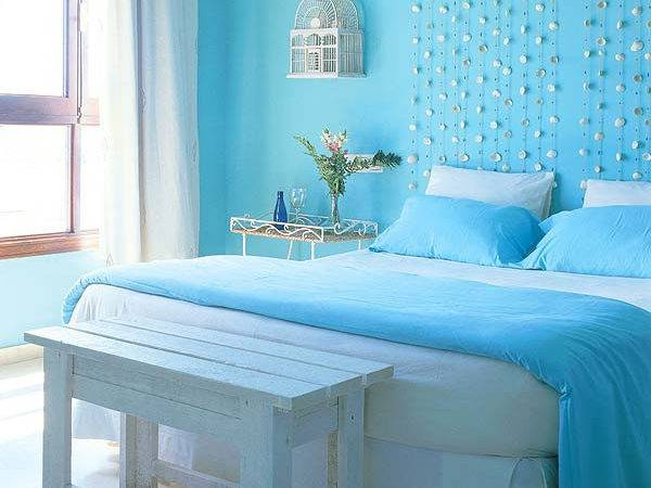 Chic Ideas Teen Blue Color Bedroom Decoration