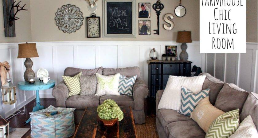 Chic Shoestring Decorating Farmhouse Living