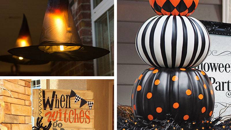 Chilling Thrilling Halloween Porch Decorations