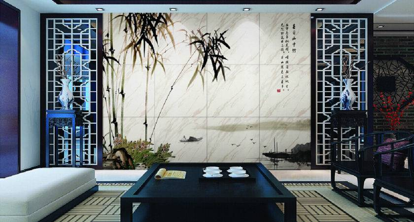Chinese Style Interior Decoration Wall