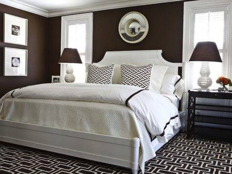 Chocolate Brown Bedroom Walls Country Home Design Ideas