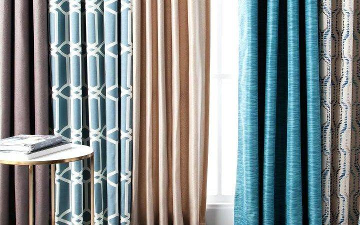 Chocolate Brown Teal Curtains Home Honoroak