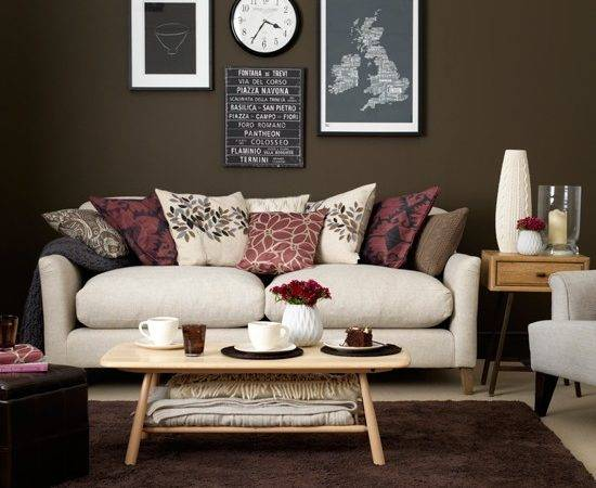 Chocolate Cream Living Room Housetohome