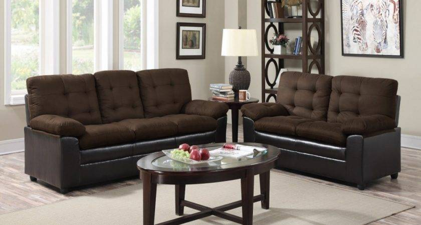 Chocolate Living Room Set Price Busters Furniture