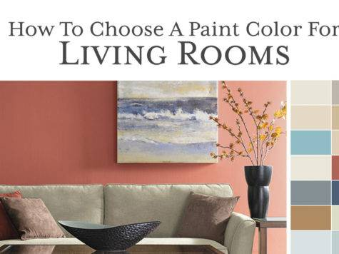 Choose Paint Color Living Room