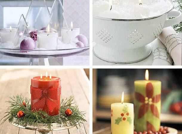 Christmas Candle Decoration Ideas