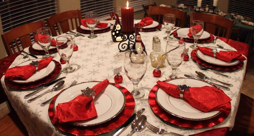 Christmas Dinner Table Settings Ideas Memes