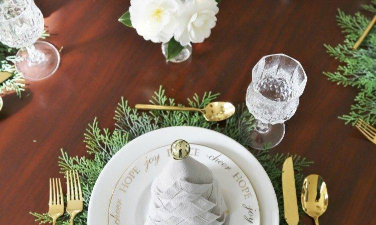 Christmas Dinner Tablesetting Ideas Sand Sisal