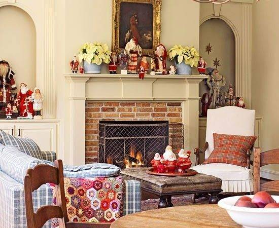 Christmas Living Room Decorating Home Style