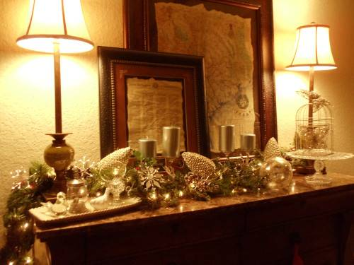 Christmas Sideboard Nola Girl Heart Lifestyle Blog