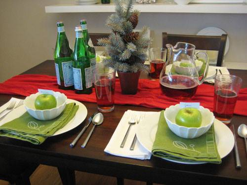Christmas Table Setting Without Store Decor Hacks