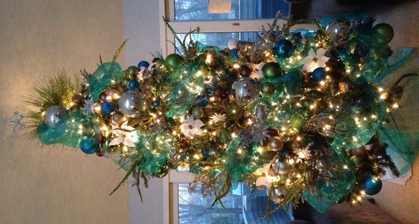 Christmas Tree Decorations Teal