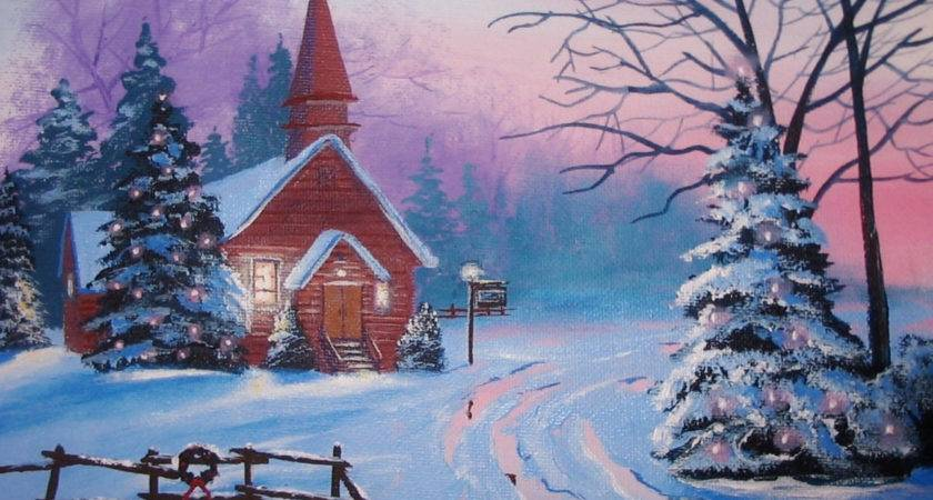 Church Country Christmas Original Thomas Justin