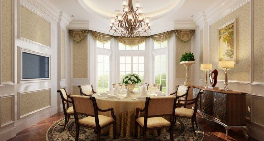 Classic French Dining Room Interior Design