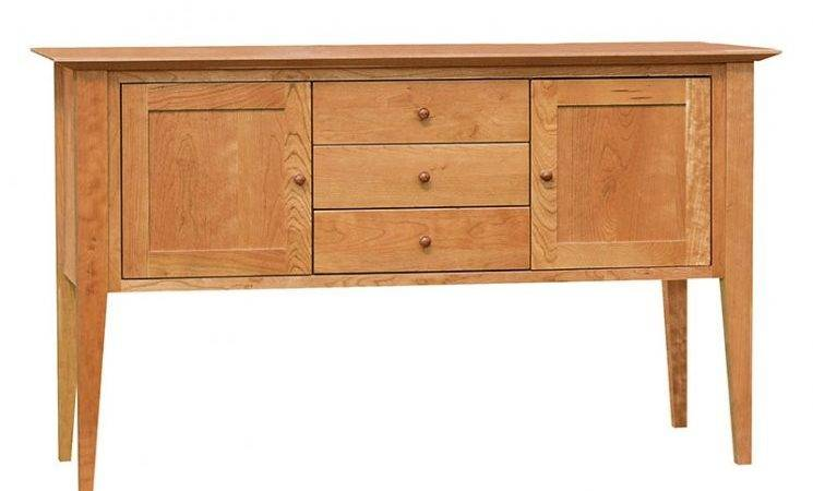Classic Shaker Small Buffet Modern Style Dining
