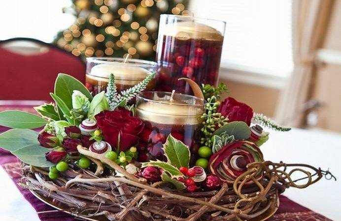 Classy Christmas Centerpieces Very Jolly Holiday