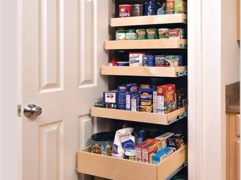 Clever Ideas Store More Small Space Pantry