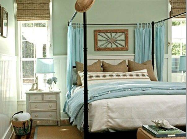 Coastal Inspiration Cottage Bedrooms