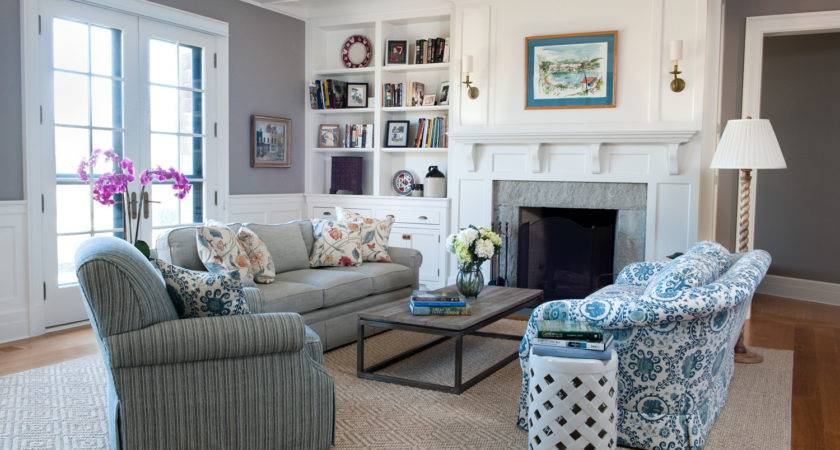 Coastal New England Style Home Decoration Club