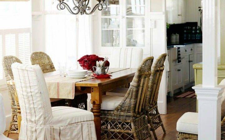 Coastal Style Dining Chairs Room Ornament