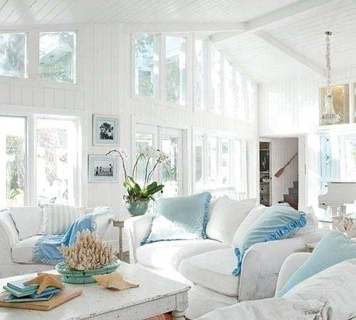 Coastal Style Shabby Chic Beach Cottage