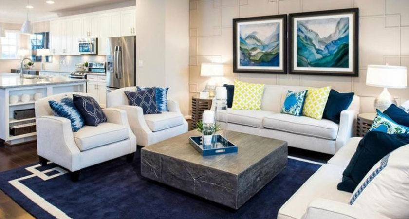 Coastal Themed Living Room Designs Decorating Ideas