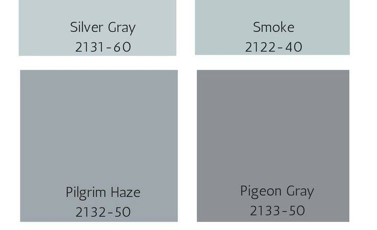Collection Blue Gray Paint Colors
