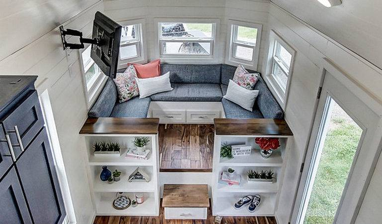 Collection Brilliant Tiny House Storage