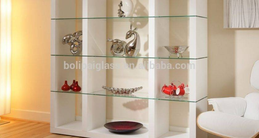 Collection Glass Shelves Living Room