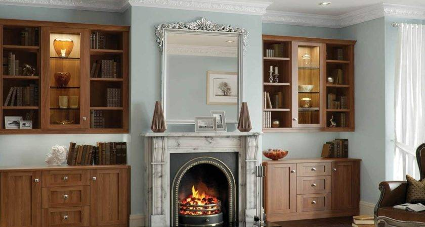 Collection Living Room Fitted Cabinets