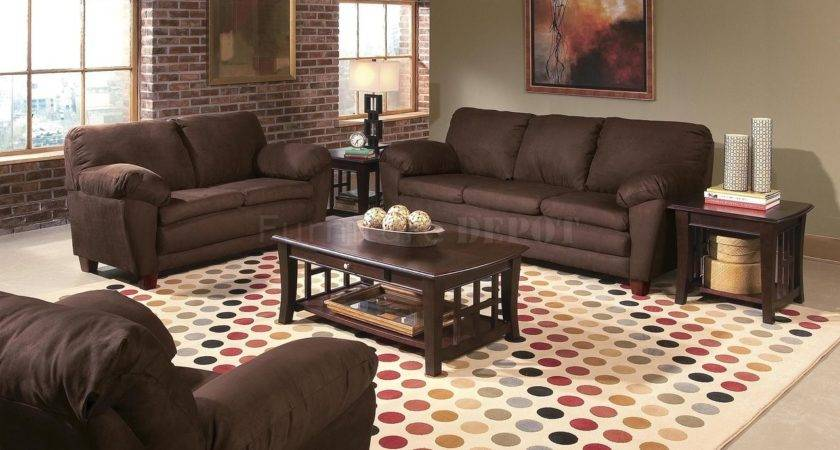 Color Brown Living Room Furniture