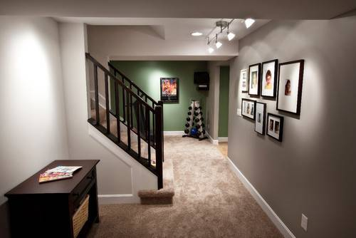 Color Carpet Goes Well Grey Walls
