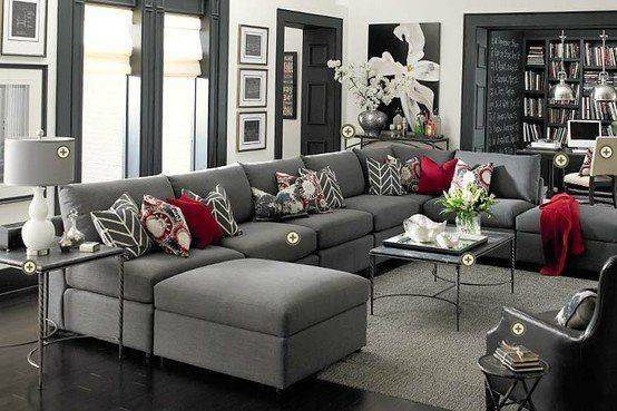Color Curtains Gray Couch Memsaheb