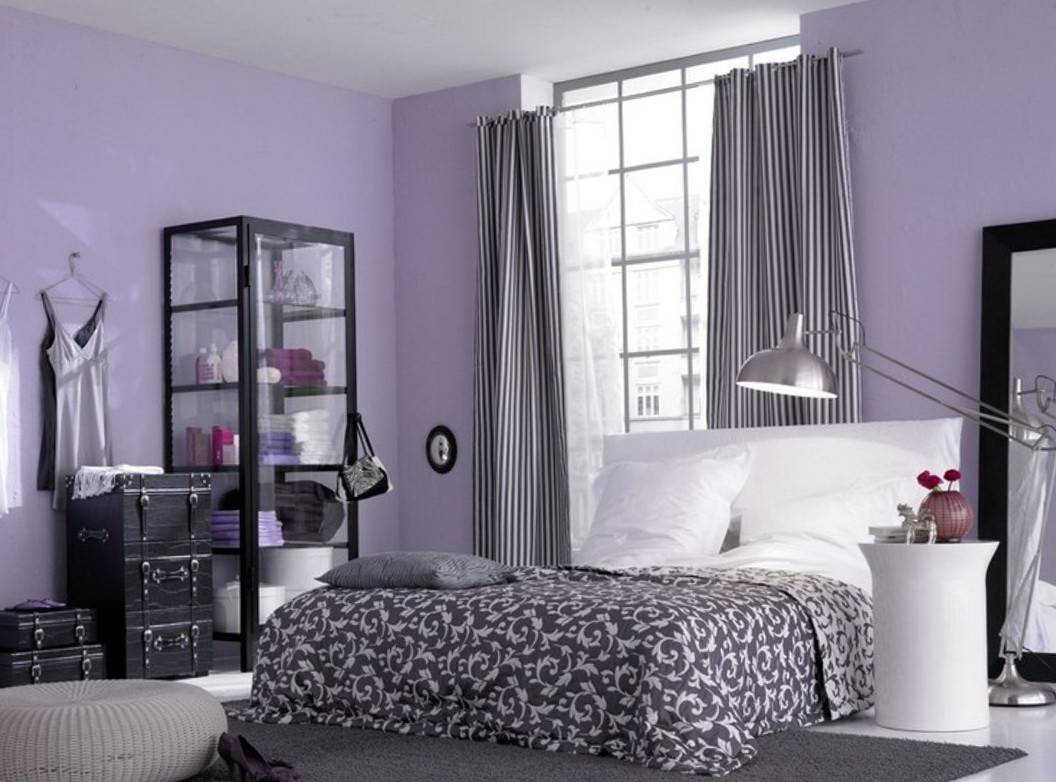 Stunning Curtain Color For Purple Wall Ideas Little Big Adventure