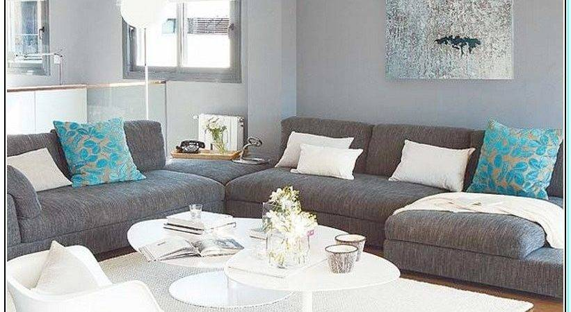 Color Furniture Goes Gray Walls Home Design