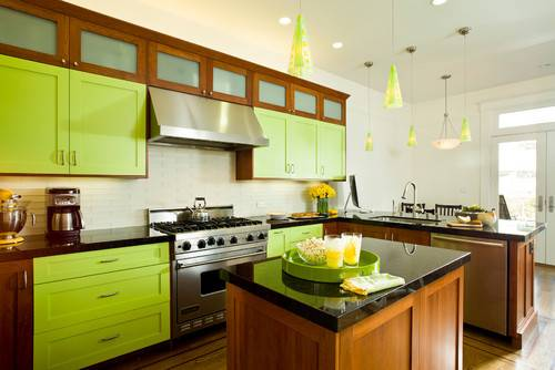 Color Month Decorating Bright Green Abode