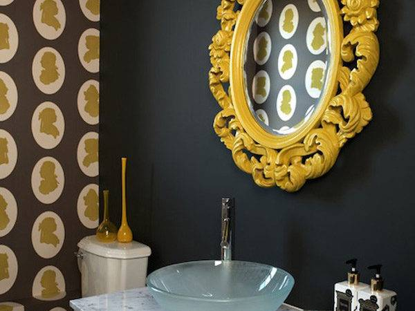 Color Roundup Using Black Interior Design